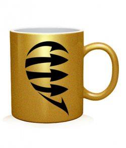 Чашка арт Половинки (для него)