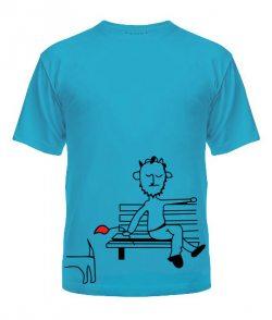 Мужская футболка Влюбленная парочка №5