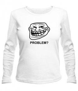Женский лонгслив Problem