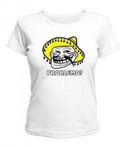 Женская футболка Problemo