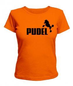 Женская футболка PUDEL