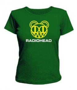 Женская футболка Radiohead Вариант №2