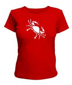 Женская футболка Рак