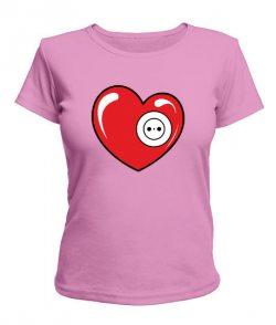Женская футболка Вилка и розетка