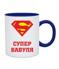 Чашка Супер бабуля