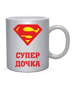 Чашка арт Супер дочка