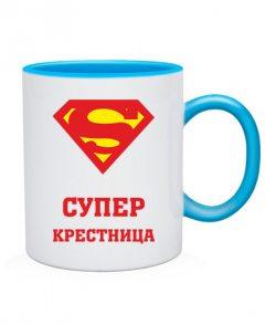 Чашка Супер крестница