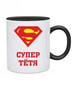 Чашка Супер тетя