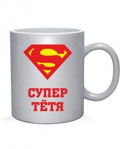 Чашка арт Супер тетя