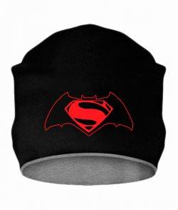 Шапка Бетмен-супермен №2