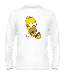 Мужской лонгслив Симпсоны