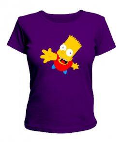 Женская футболка Симпсоны Вариант №1