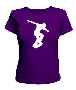 Женская футболка Skateboarding