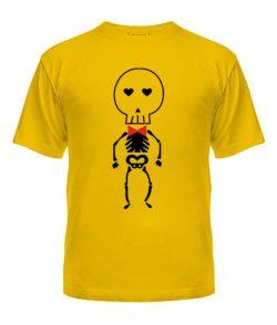 Мужская футболка Скелеты