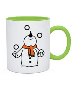 Чашка Снеговик