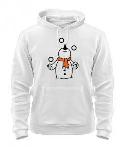 Толстовка Снеговик