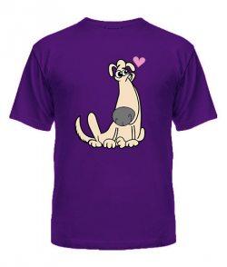 Мужская футболка Собачата