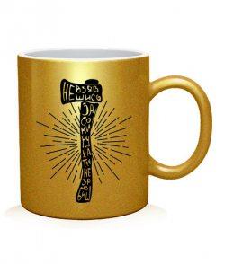 Чашка арт Сокира