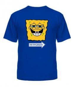 Мужская футболка Спанч бобы