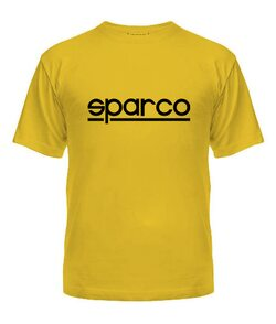 Мужская Футболка Спарко (Sparco)