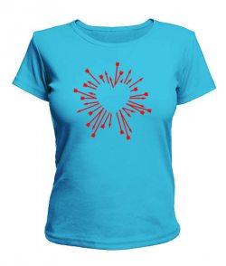 Женская футболка Стрелы