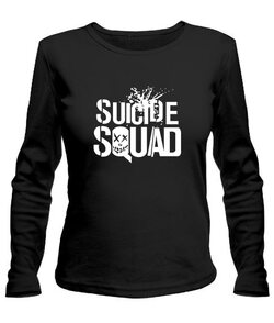 Женский лонгслив Suicide Squad