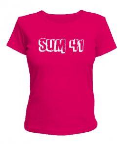 Женская футболка Sum 41