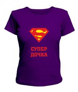 Женская футболка Супер дочка