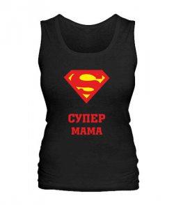 Женская майка Супер мама