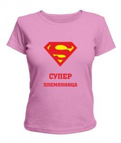 Женская футболка Супер племянница