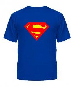 Мужская Футболка Супермен Вариант №3