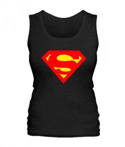 Женская майка Супермен Вариант №3