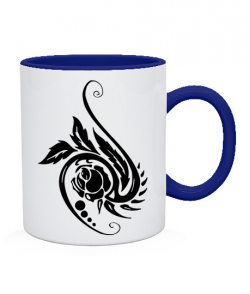 Чашка Тату Цветок-2