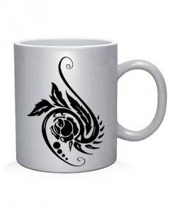 Чашка арт Тату Цветок-2