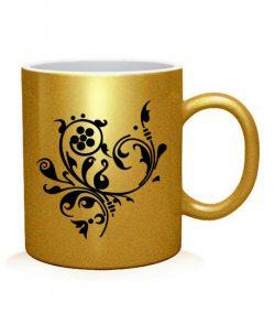 Чашка арт Тату Цветок-6