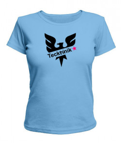 Женская футболка Tecktonik