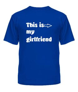 Мужская футболка This is My
