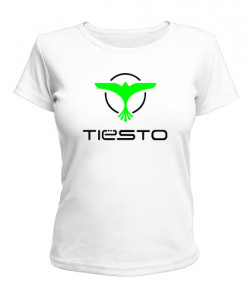 Женская футболка Tiesto (Тиесто)