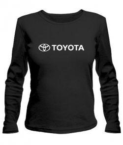 Женский лонгслив Тойота (Toyota)