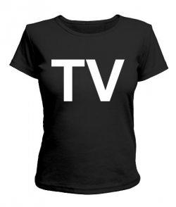Женская футболка TV