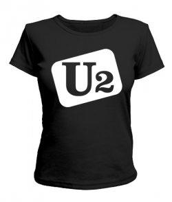 Женская футболка U2