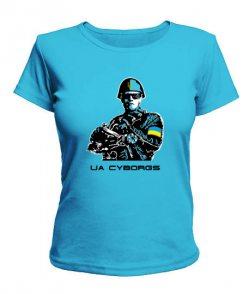 Женская футболка UA CYBORGS