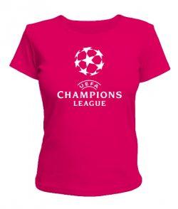 Женская футболка УЕФА чемпионс
