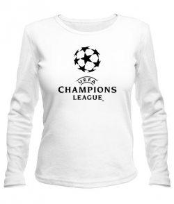 Женский лонгслив УЕФА чемпионс