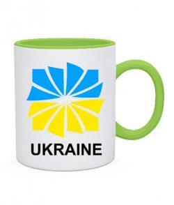 Чашка Я люблю Україну