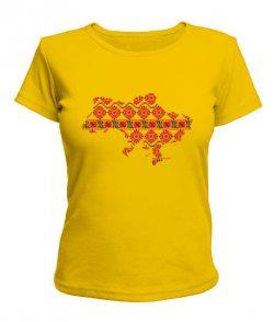 Женская футболка Украина - Вышиванка 2
