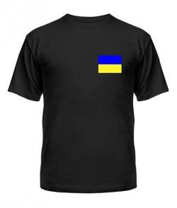 Мужская Футболка Флаг Украины Вариант №1