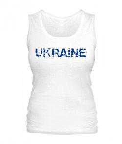 Женская майка Ukraine Вариант №2
