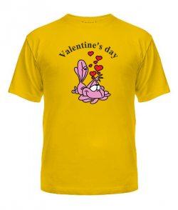 Мужская Футболка Valentine`s day Вариант №2