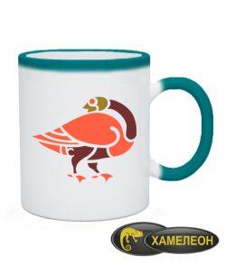 Чашка хамелеон Кельтский узор Вариант №10
